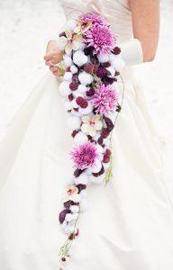 bukiet ślubny wiązanka ślubna chryzantemy