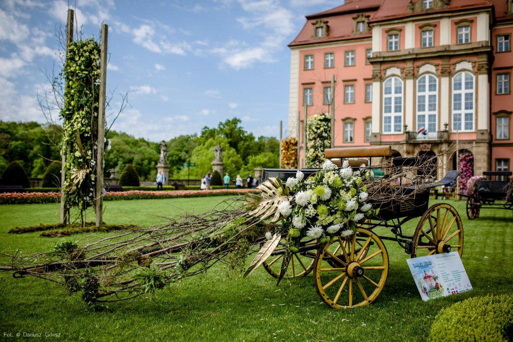 Festiwal Kwiatów i Sztuki w Zamku Książ