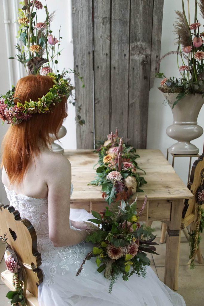 chryzantemy letni ślub